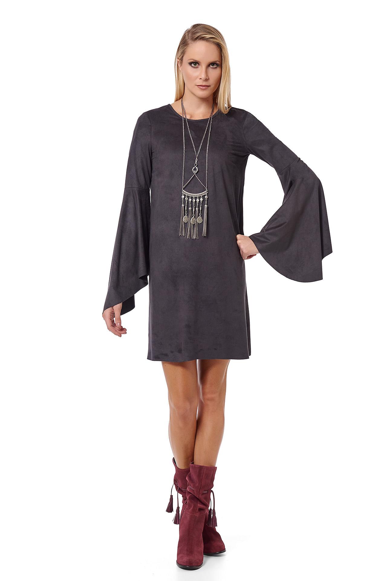 TÚNICA DRESS MALHA SUEDE - 44