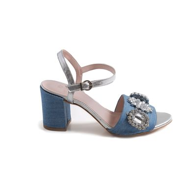 MY SHOES SANDALIA JEANS PEDRARIA 70370218