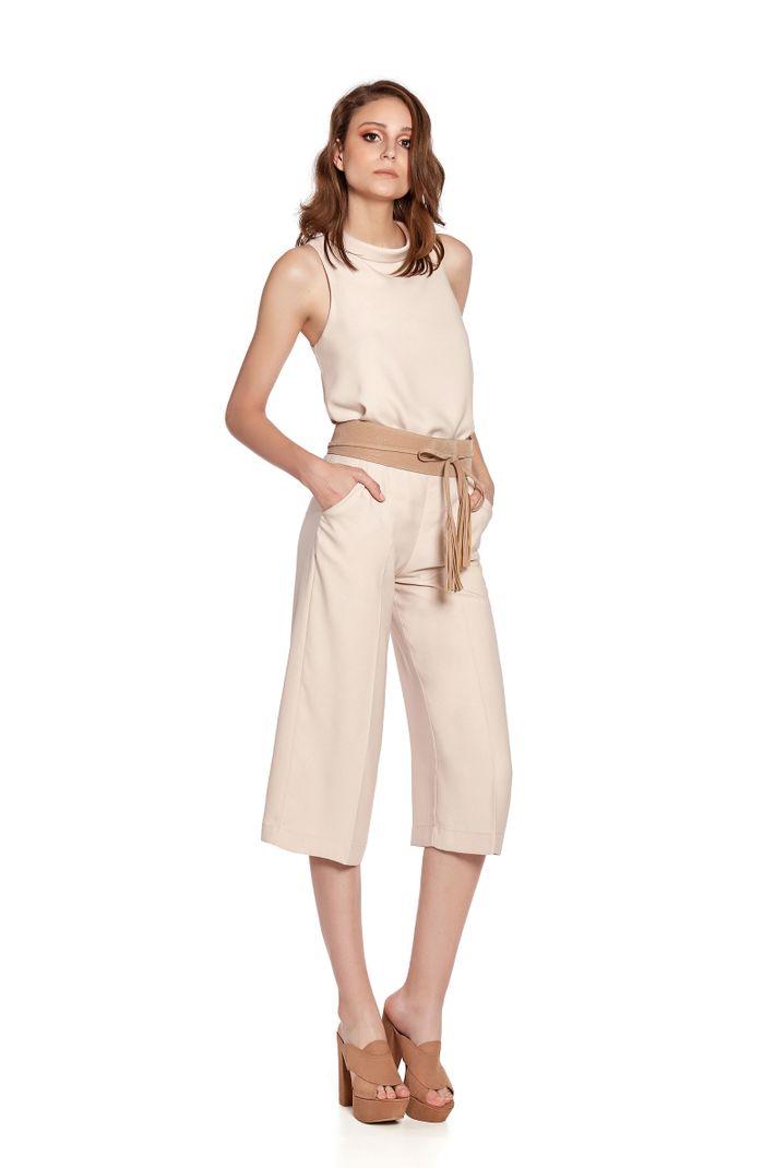 Calça Pantalona Crepe Dior - 44