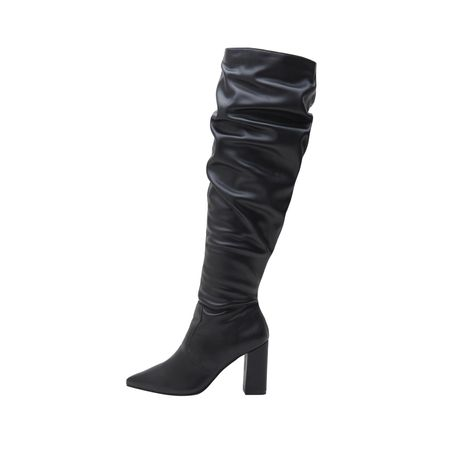 OVER THE KNEE BICO PRETO