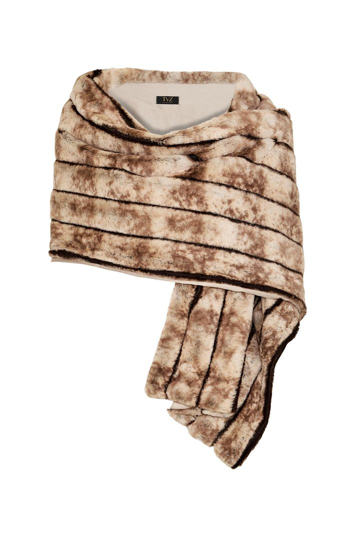 Ac Soft Stripe Fur - U