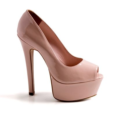 640f6f9748 Compre Scarpin Vizzano Bege em Verniz na Escarpan Shoes