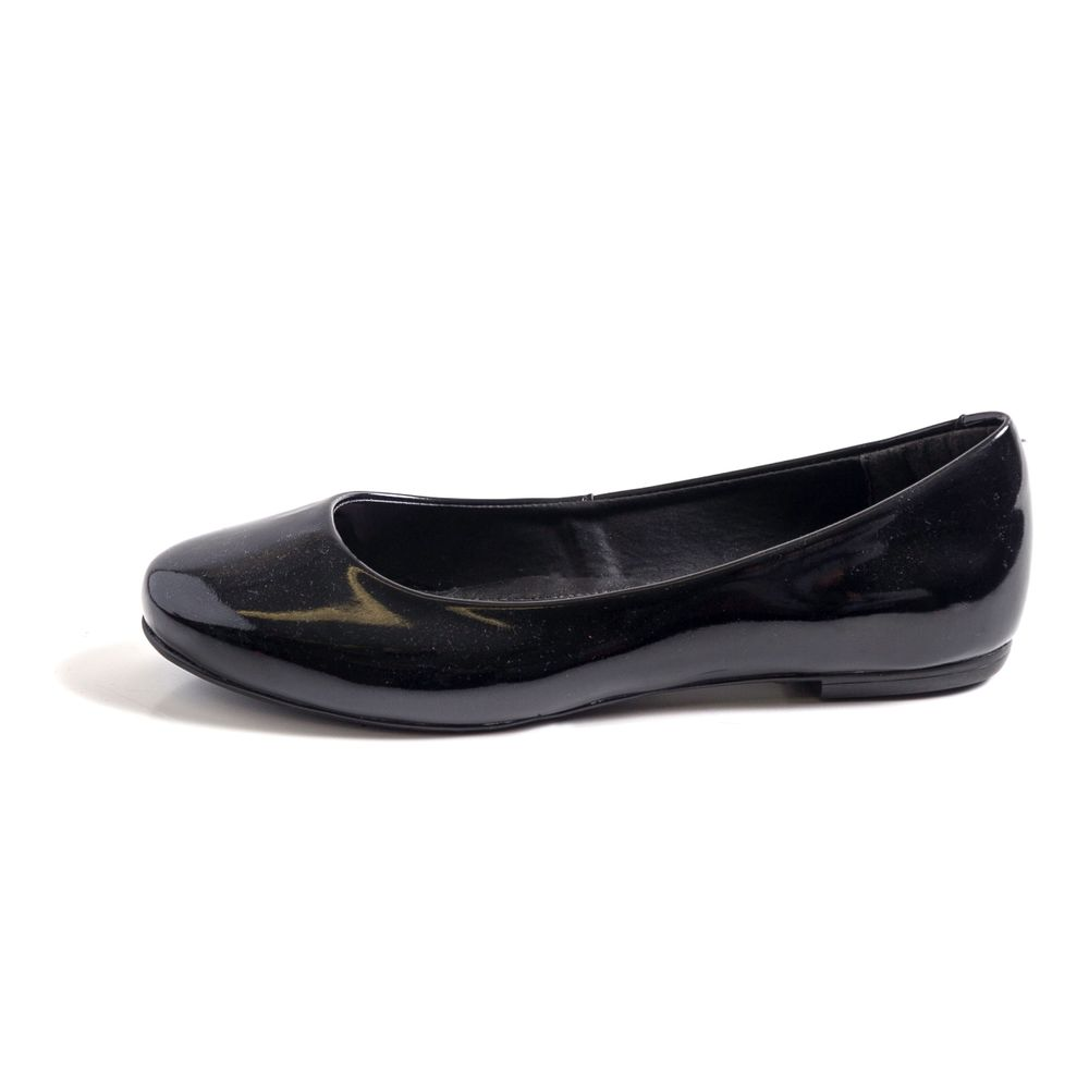 d5508b4161 Sapatilha Preta Bico Redondo Preto - TVZ Loja Online Oficial - MyShoes