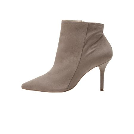 ANKLE BOOT SUEDE BICO CINZA
