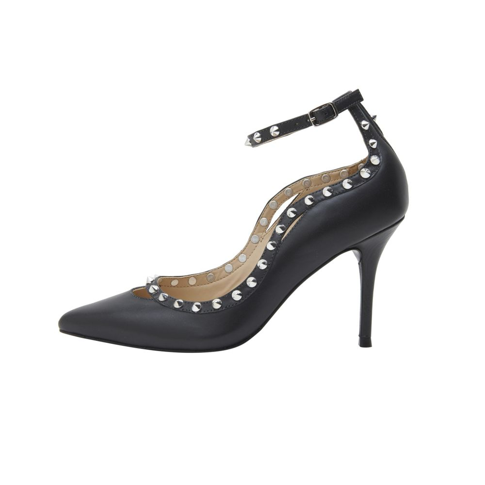 495c8a5cc3 Scarpin Tira Spike Preto - TVZ Loja Online Oficial - MyShoes