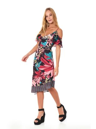 f5b0f1393 VESTIDO SILKY CREPE JOLLY HIGH