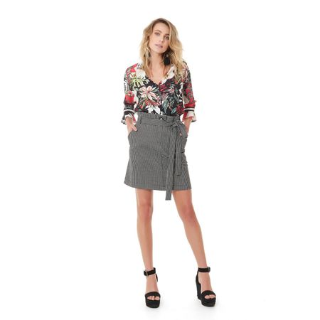 CAMISA SILKY CREPE SUMMER FLO