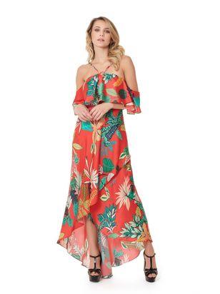 9950100740 Vestidos de Festa - Verão 2019 Estampado – TVZ