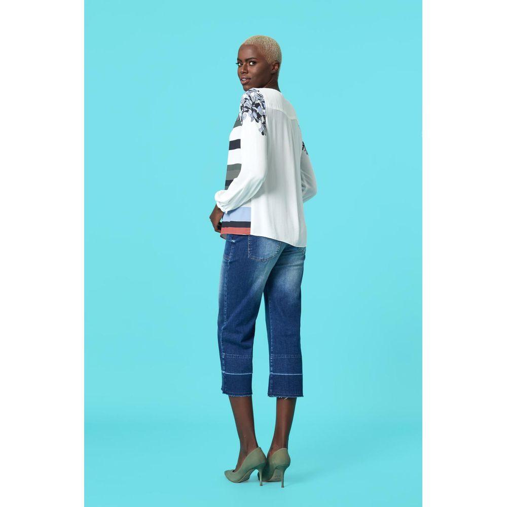 5f1e4b712 Calça Pantacourt Jeans - TVZ Loja Online Oficial - TVZ
