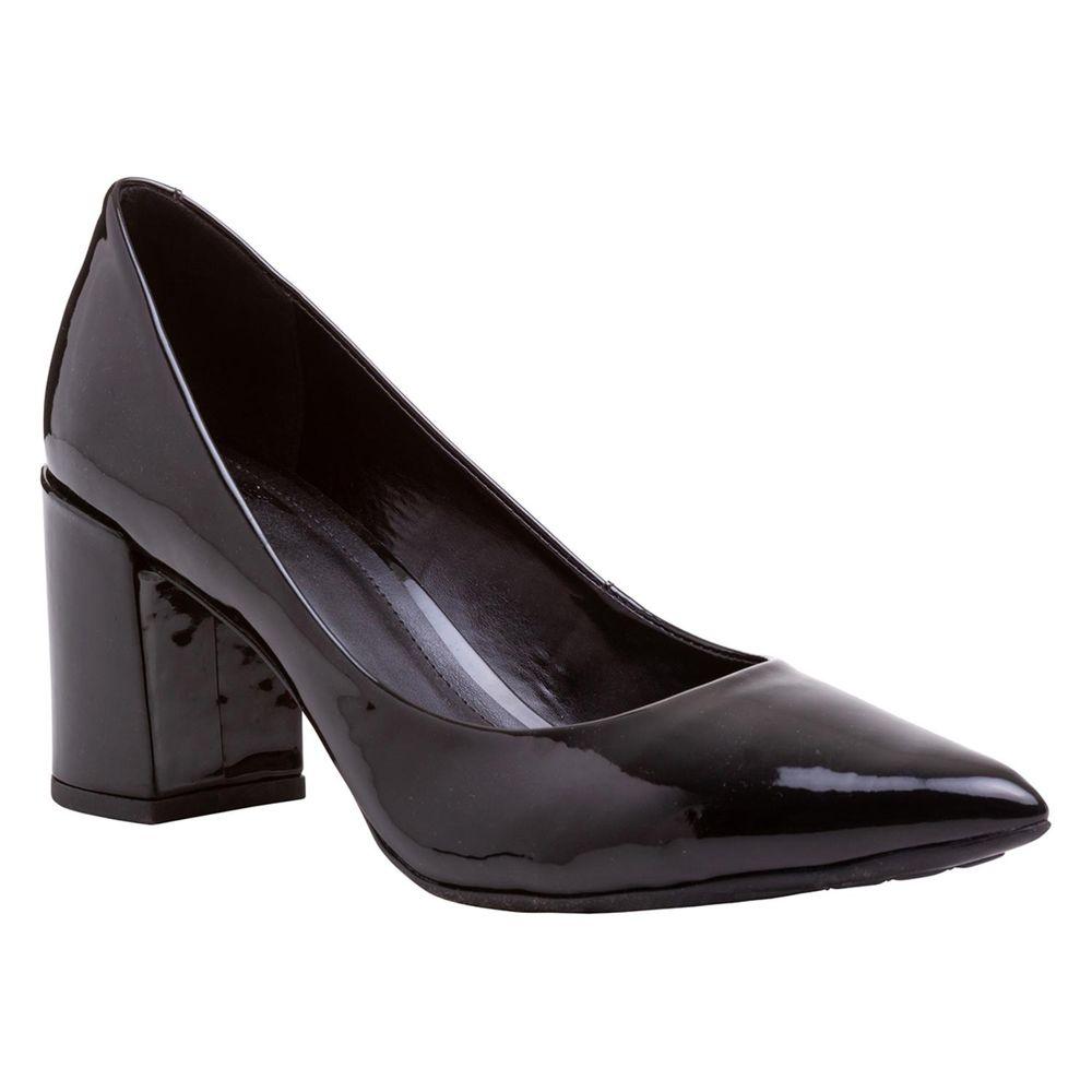 732bfb4d7b Scarpin Basic Salto Grosso - TVZ Loja Online Oficial - MyShoes