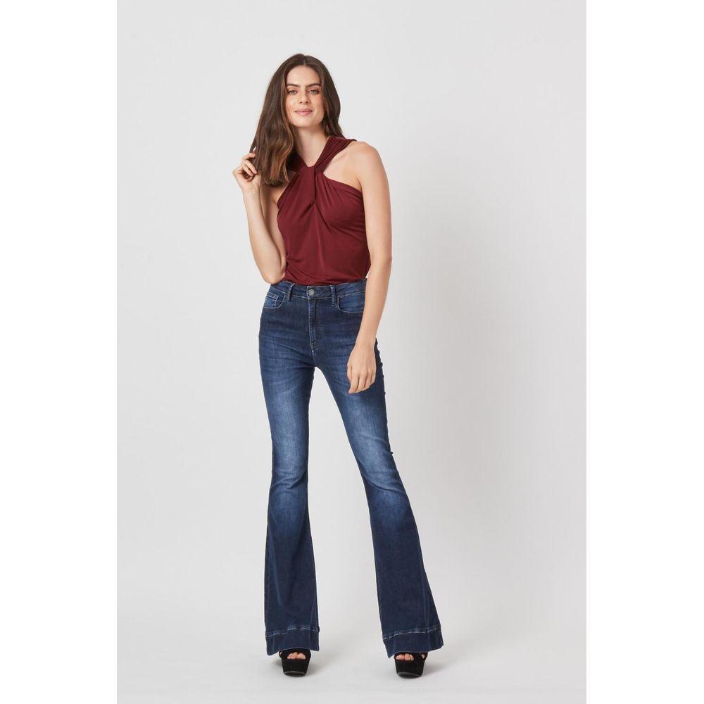 226424efe Calça Jeans Flare Barra - TVZ Loja Online Oficial - TVZ