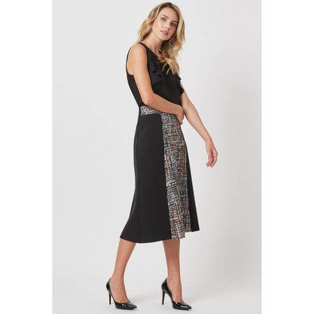 SAIA MIDI TWEED MULTICOR