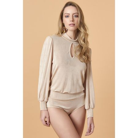 BODY CAMISA DECOTE GOTA
