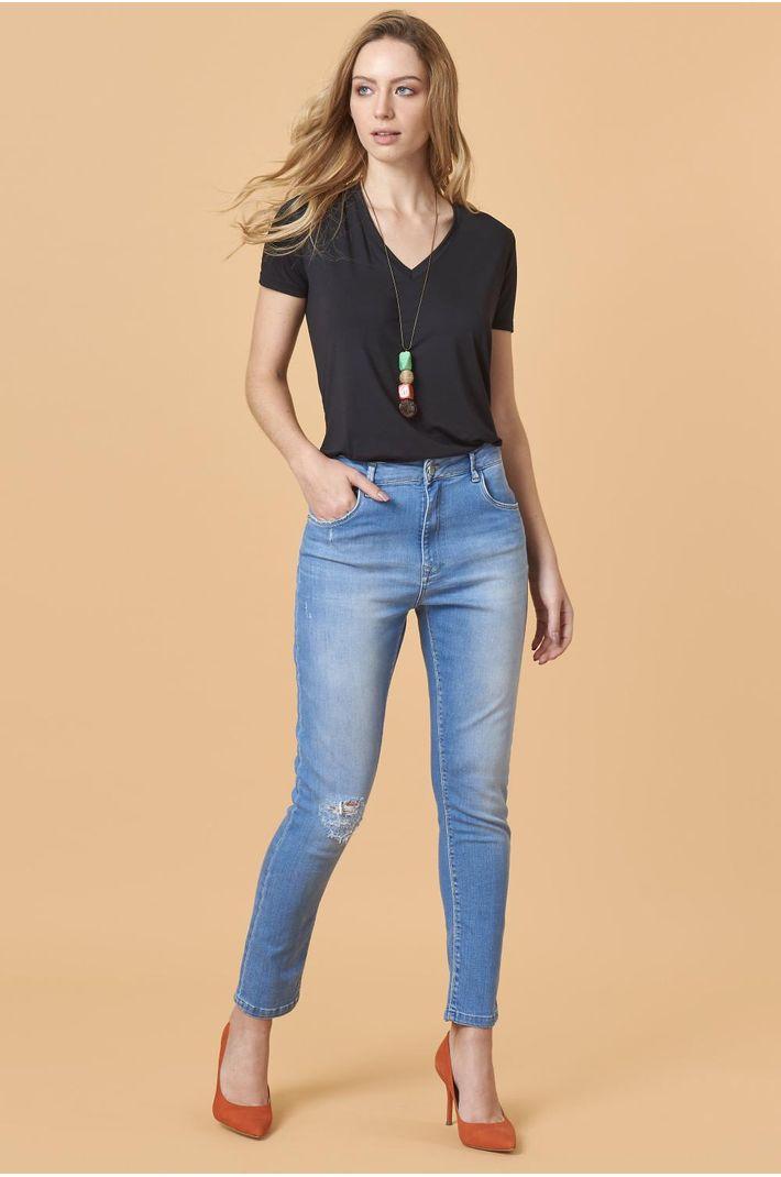 Calça Jeans Girlfriend - 36