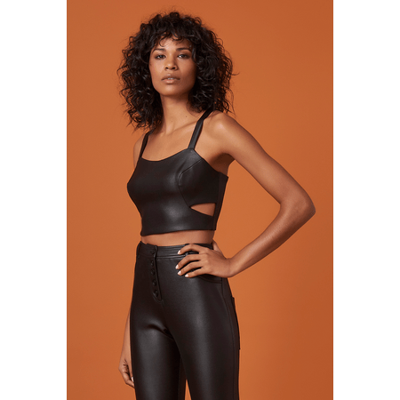 CROPPED NEOPRENE RECORTE